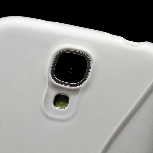 S-Curve Soft TPU Jelly Case for Samsung Galaxy S 4 IV i9500 i9502 i9505 - Transparant