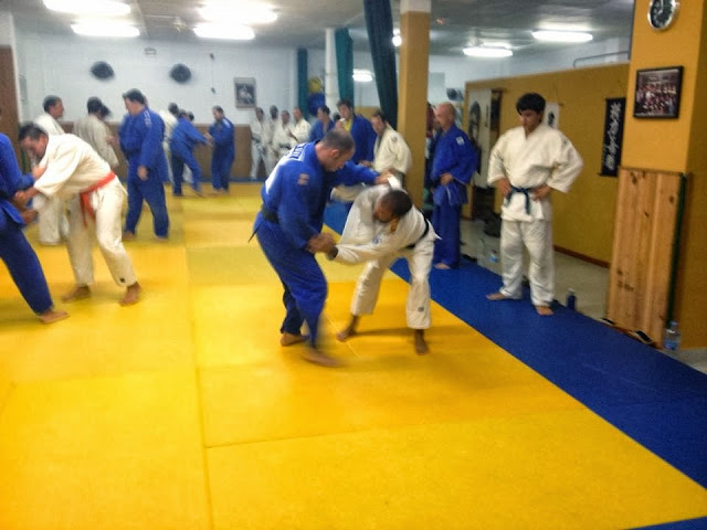 Judo mallorca con la Guardia Real