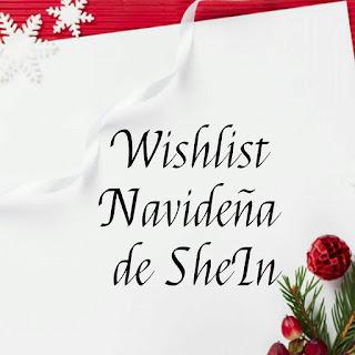 Wishlist Navideña de SheIn