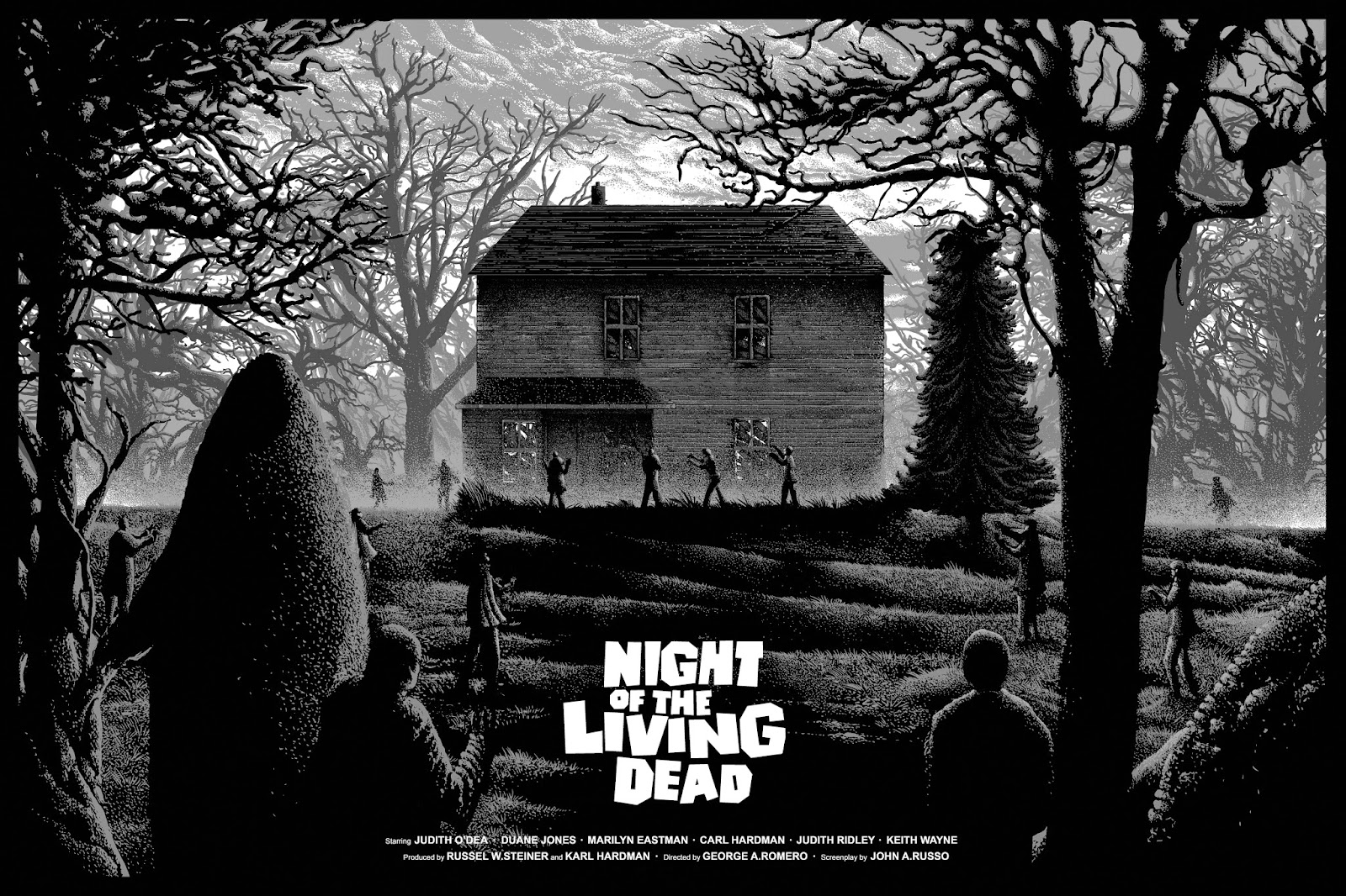an analysis of the movie night of the living dead Dawn of the dead is the movie by which all other entries into its horror subgenre ( the  even in an early film like night of the living dead , romero has a deft.