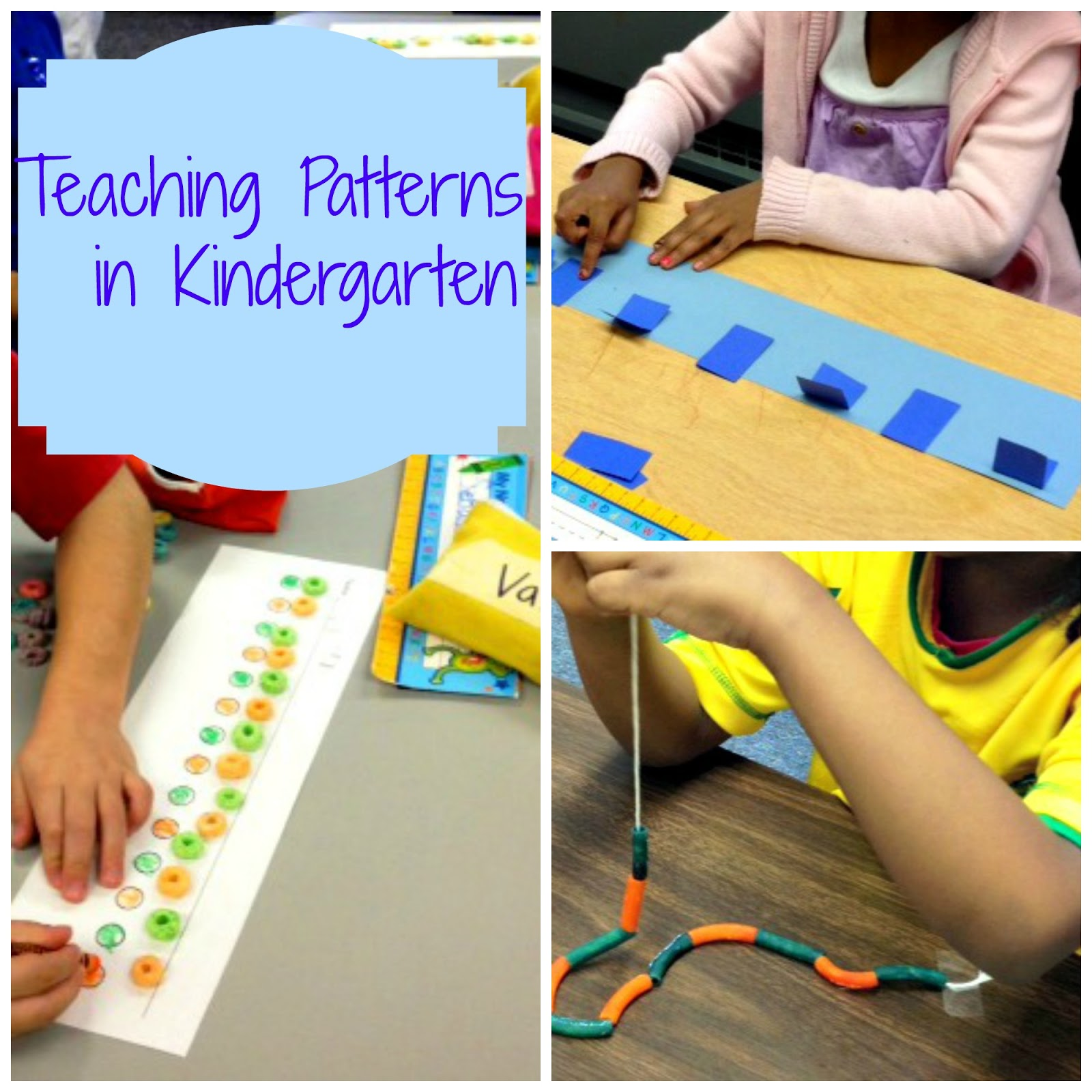 Patterns For Kindergarten Best Ideas
