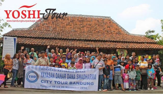 Rombongan City Tour Bandung Yayasan Danar Dana Swadharma