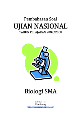 Pembahasan Soal Un Biologi Sma 2008