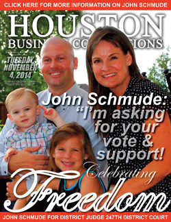 JOHN SCHMUDE IS SEEKING YOUR VOTE IN THE 2014 MIDTERM ELECTION