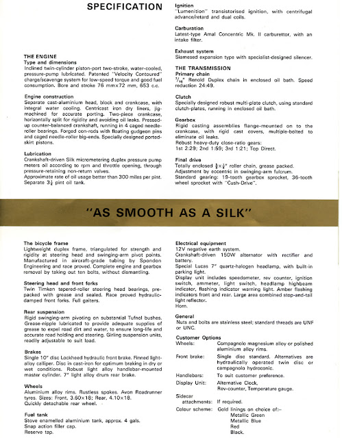 Silk 700S Brochure Specifications