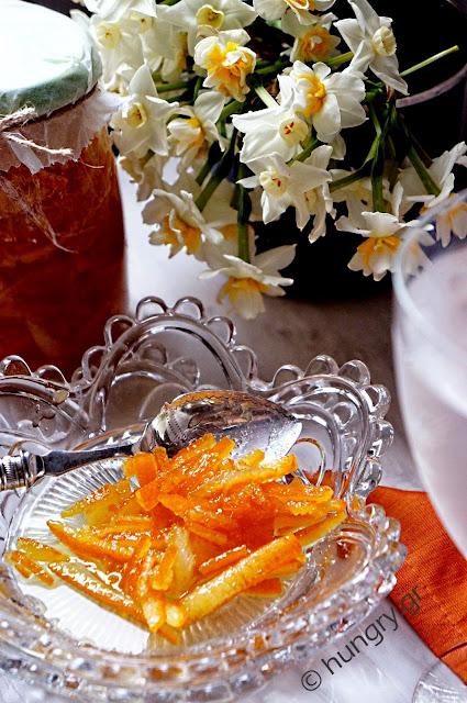 Orange Peel Sweet Preserves