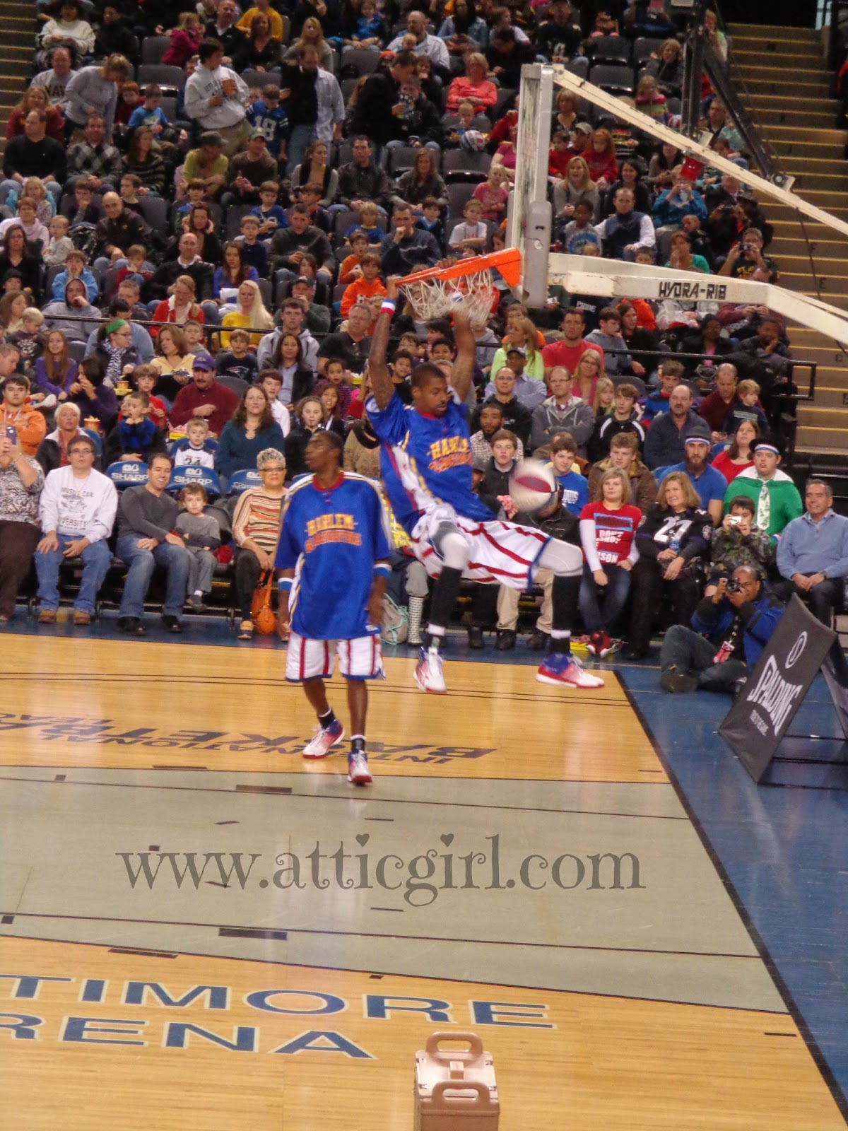 Globetrotters, First Mariner Arena, Baltimore