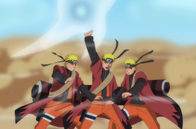Naruto vs Pain (Imagenes)