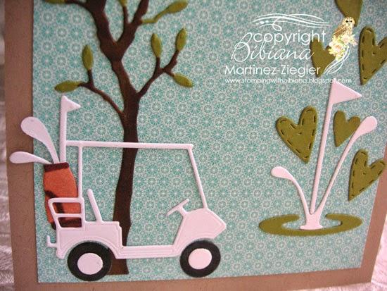 hola golf card detail