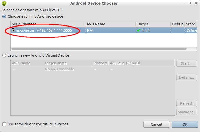 Setup Android Adb For Wifi Debug