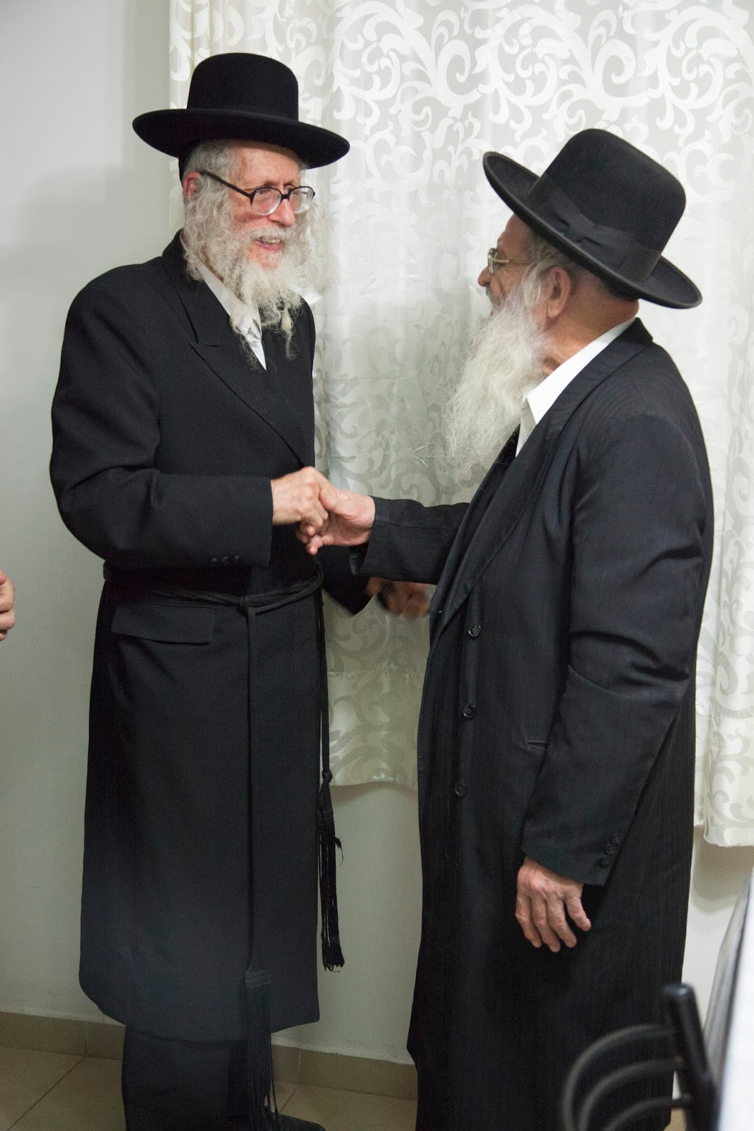 Rabbi Eliezer Berland and Rabbi Nachman Rosenthal