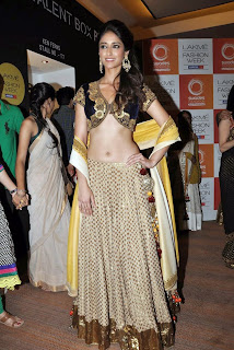 Ileana in lovely Designer Ghagra Choli ghagra Spicy Pics Must see fashion ramp Walk
