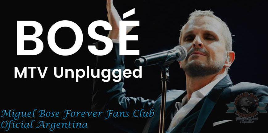 Primer Unplugged de Miguel Bose