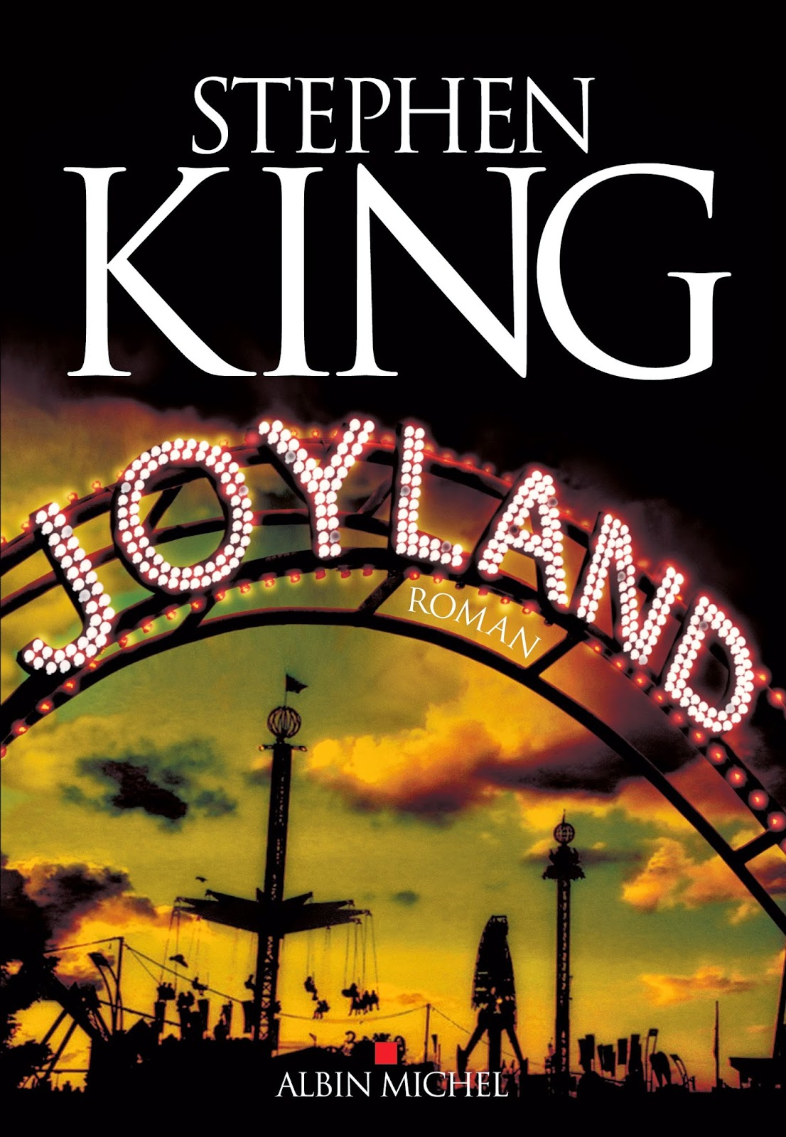 Joyland de Stephen King couverture US