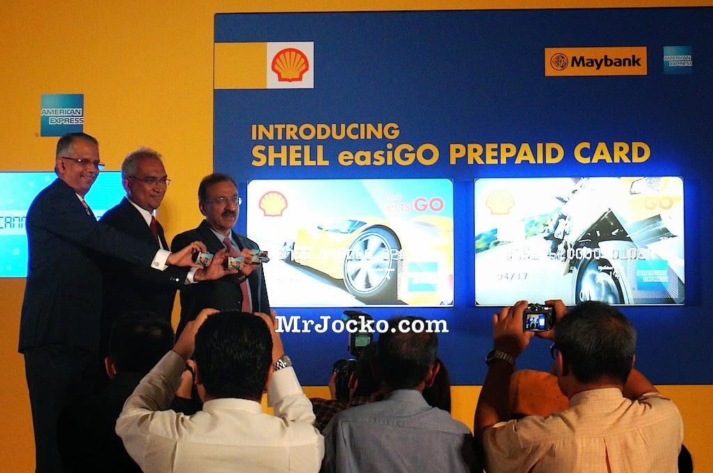 Shell EasiGo Prepaid Card American Express Maybank