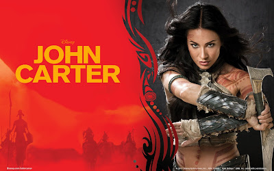 Dejah Thorris Lynn Collis from John Carter HD Wallpaper