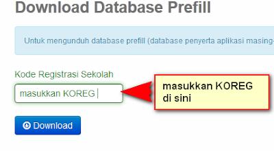kode registrasi dapodik