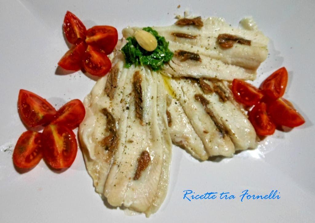 pesce san pietro al pesto di rucola