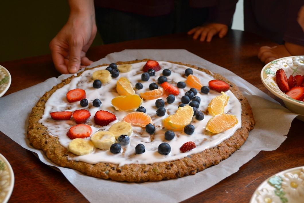 Paleo Fruit Pizza