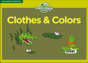 http://www.eslgamesplus.com/clothes-and-colors-esl-vocabulary-esl-crocodile-board-game/