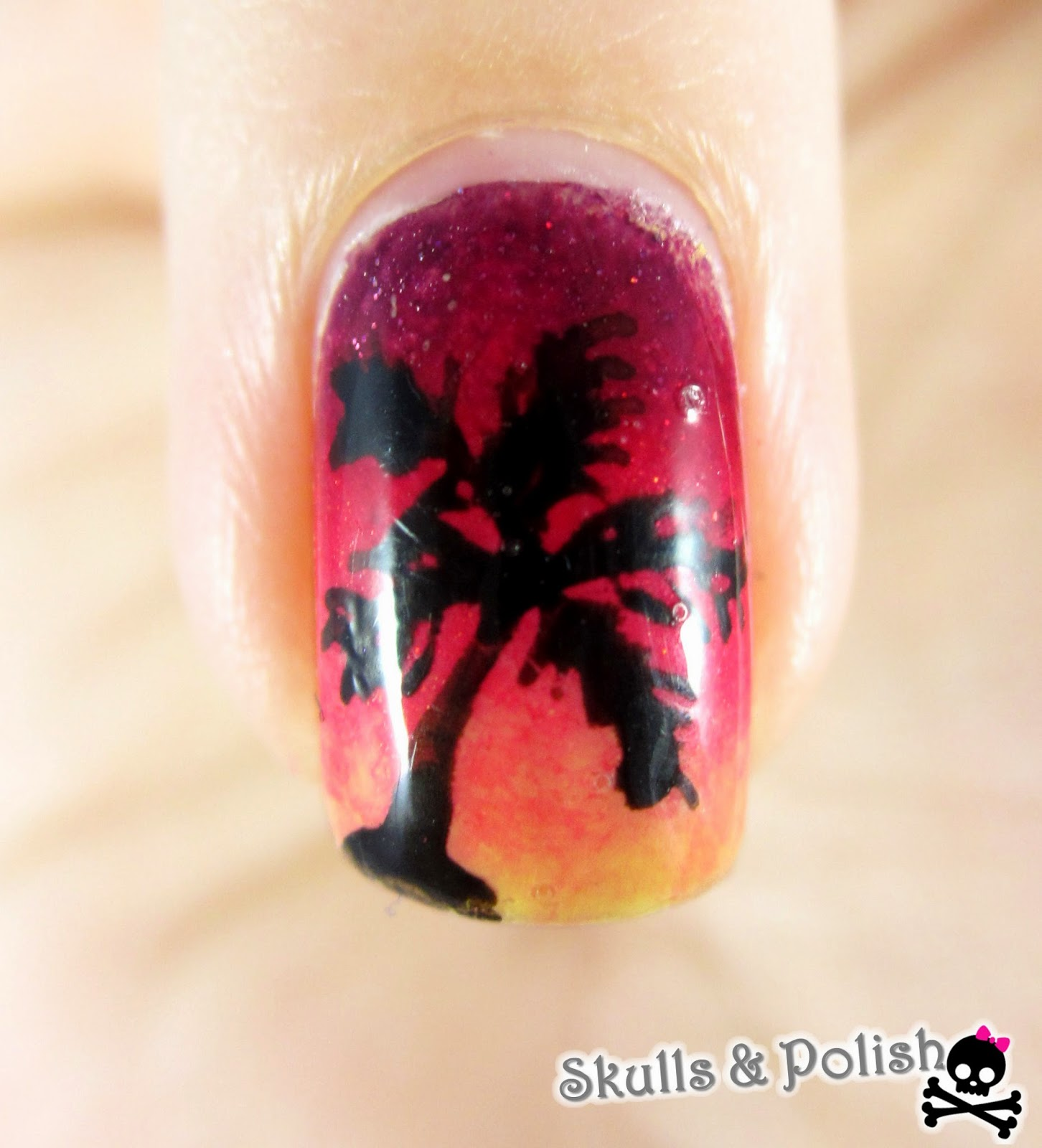 sunset_gradient_nails_dégradé
