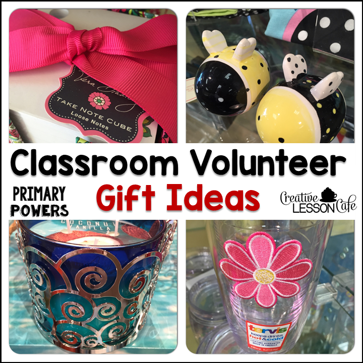 Classroom Volunteer Ideas ~ Primary powers volunteer gift ideas and freebie thank you