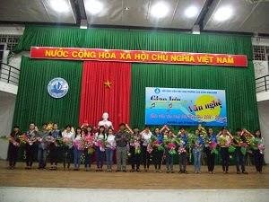 Cao đẳng Bình Định chào đón tân sinh viên năm 2014