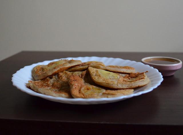 bananowe wegańskie placuszki