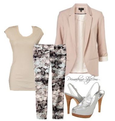 How to wear what to wear with print pants RSVP Hailey