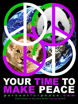 OUR ORIGINAL PEACE POSTER SERIES IS ONLINE FOR YOU