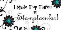 Jeg ble Topp 3 hos Stamptacular