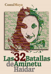 "Libro ""Las treinta y dos batallas de Aminetu Haidar"""