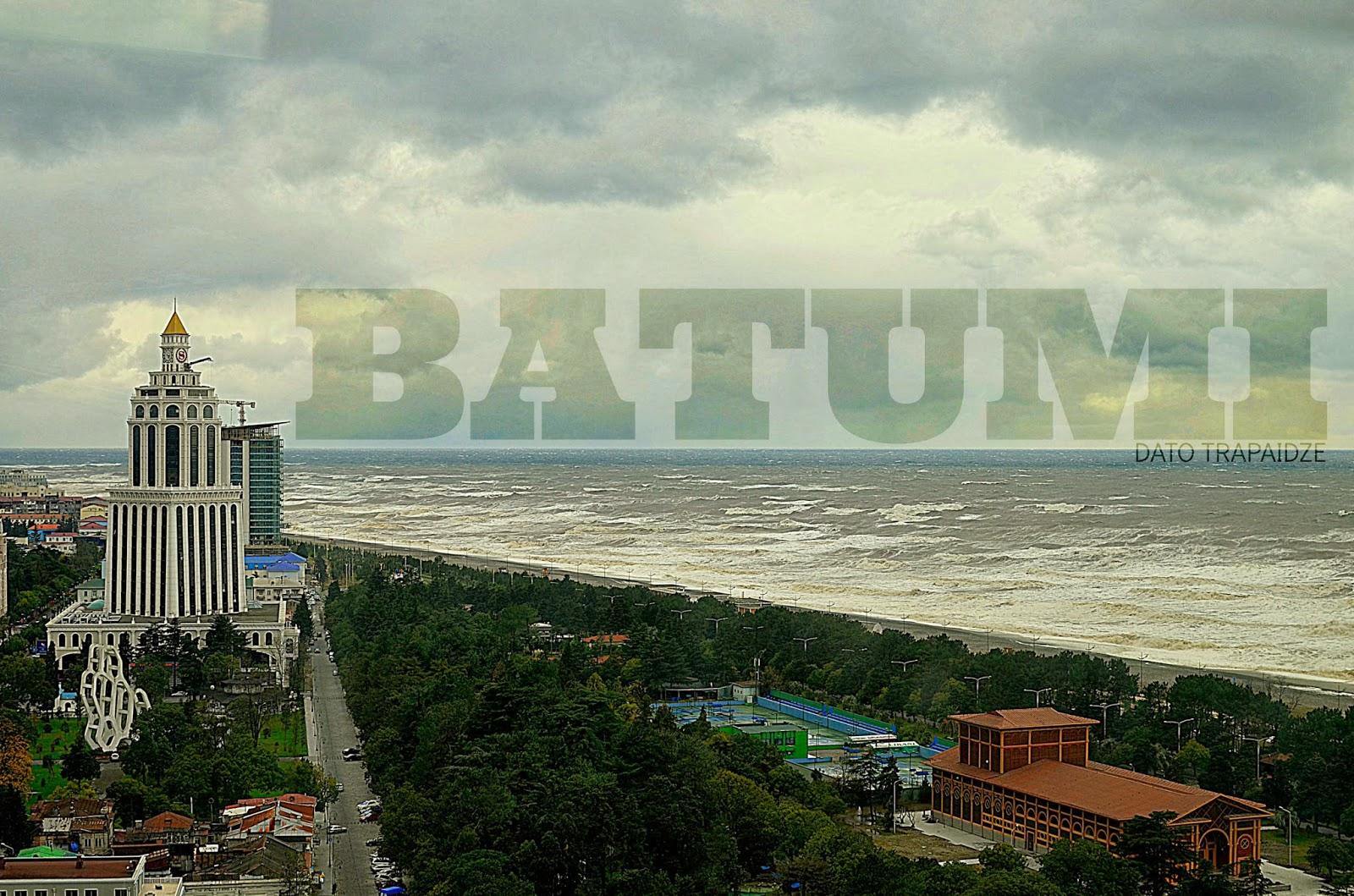 Batumi, Storm 03.12.13