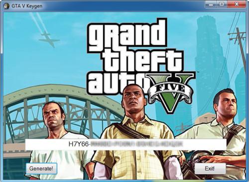 gta v keygen download pc