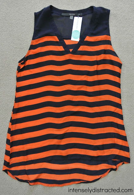 Stitch Fix|  Fun2Fun - Sonoma Striped Sleeveless Top