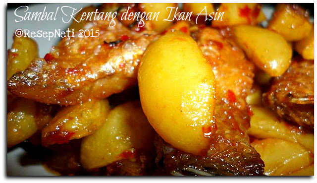 Spicy Potato with salted fish