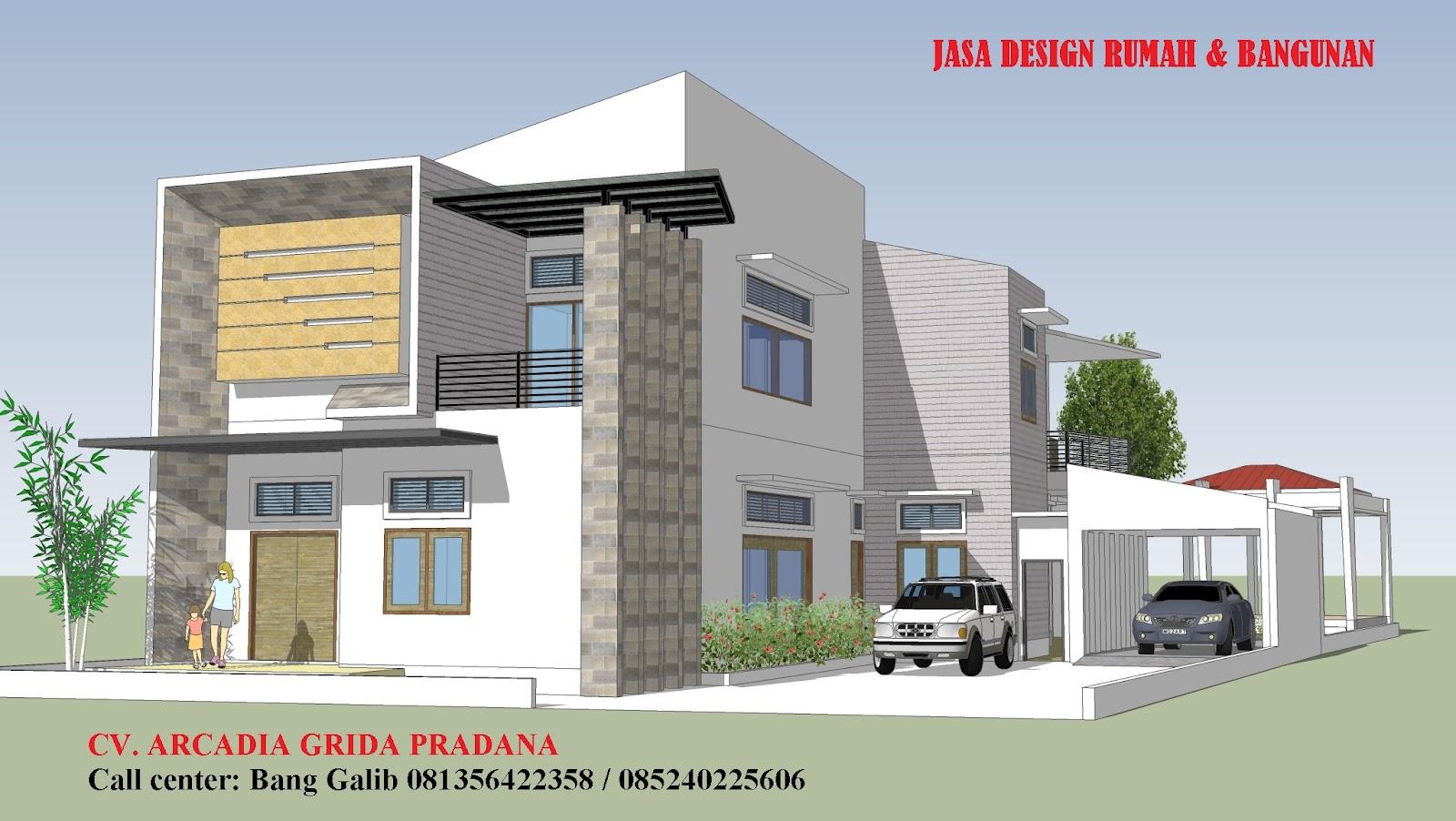 model rumah murah