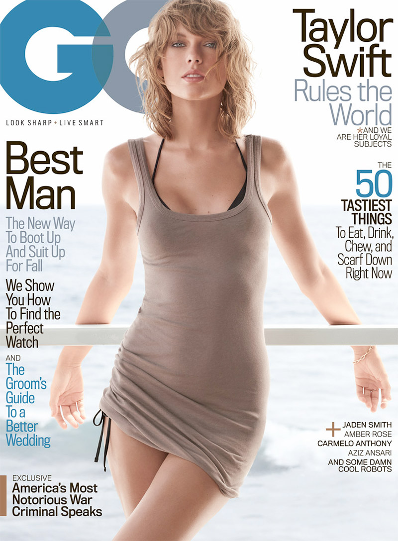 Taylor Swift is sexy for GQ November 2015