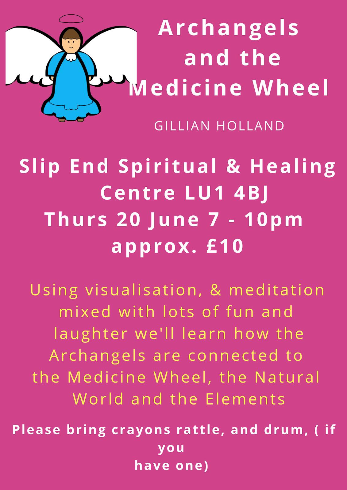 Angels of Medicine Wheel