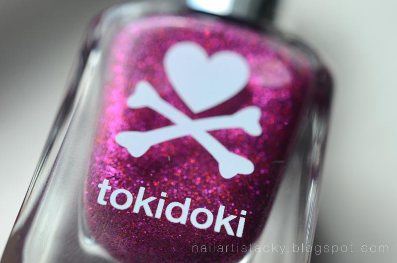 Tokidoki Ciao Ciao Review - Glitter Nail Polish