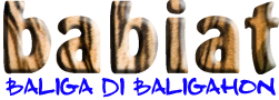 BabiatNews com ~ Baliga Di Baligahon