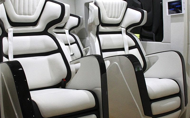 Luxurious Ford Transit Skyliner Shows Flexibility