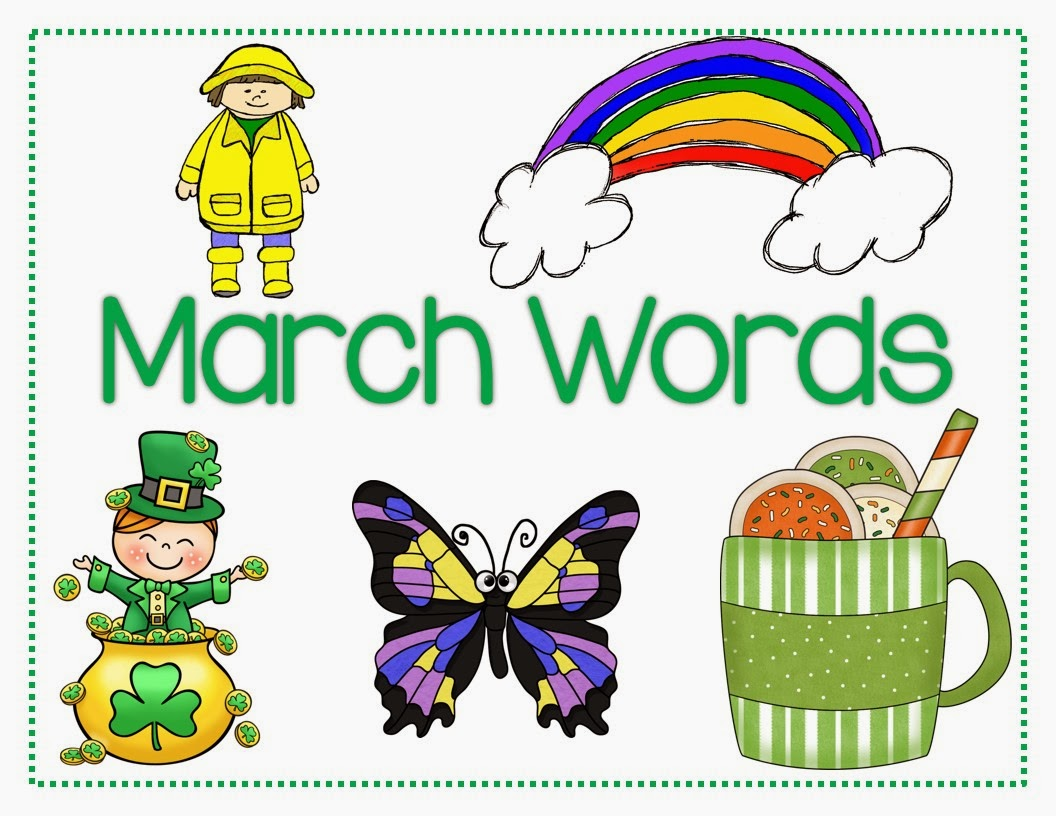 http://www.teacherspayteachers.com/Product/March-Words-569373
