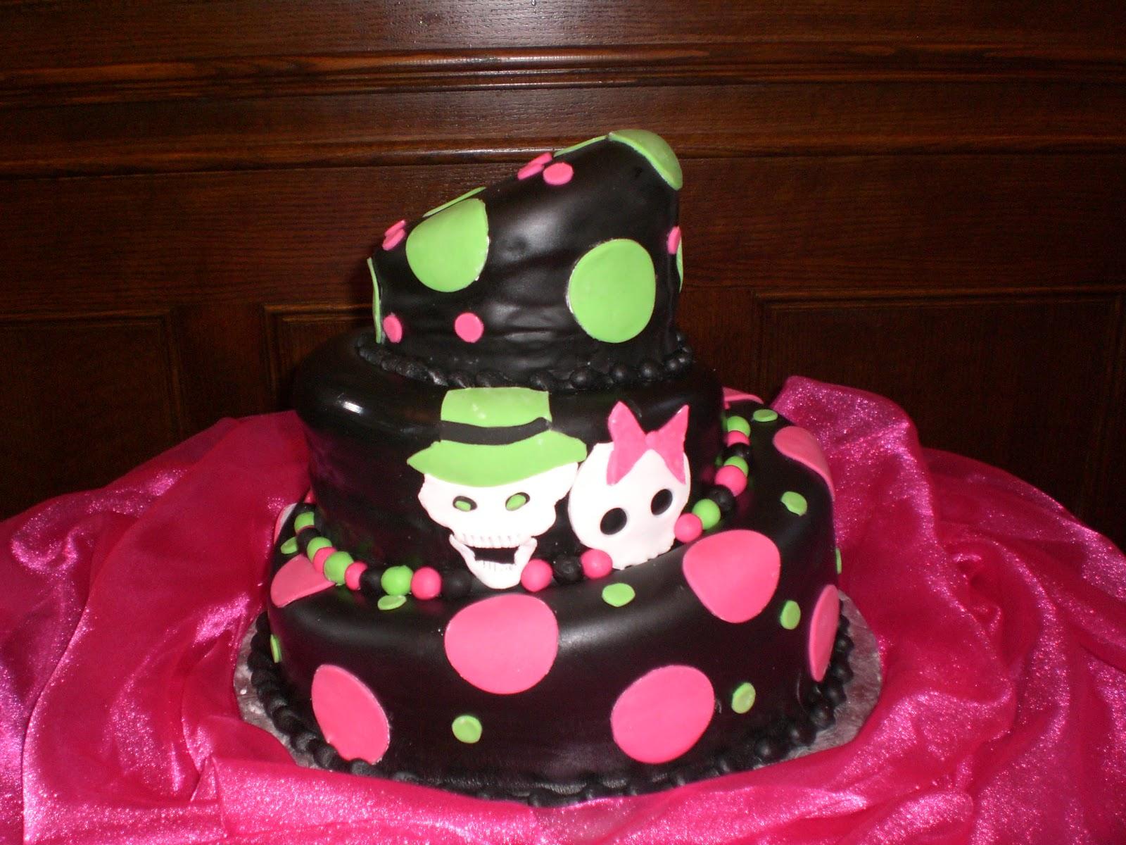 Cake Art Lawrenceville Hwy : CAFE AROMAS: Skull Wedding Cakes