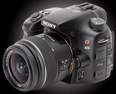 Spesifikasi dan Harga Kamera DSLR SONY SLT-A65