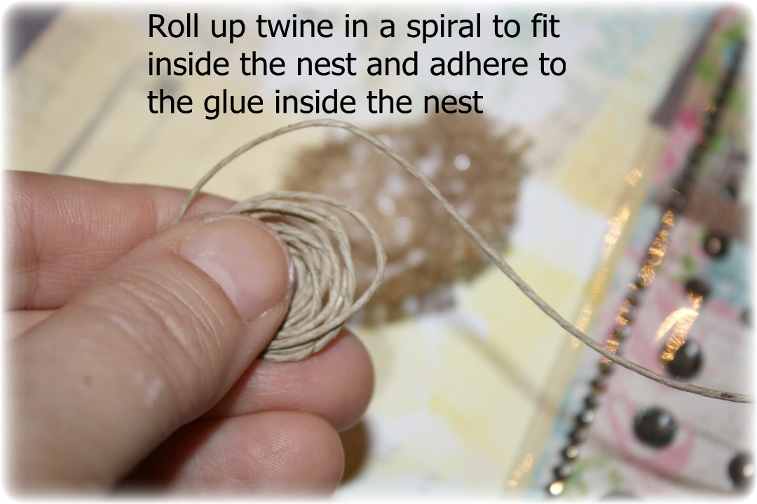 how to make a bird nest step by step