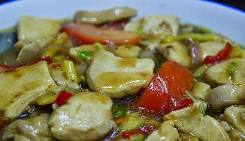 Resep Ayam Masak Halia