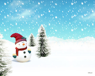 Snow Man 3D Wallpapers