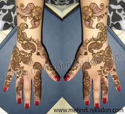 Arabic Mehndi Designs Pictures