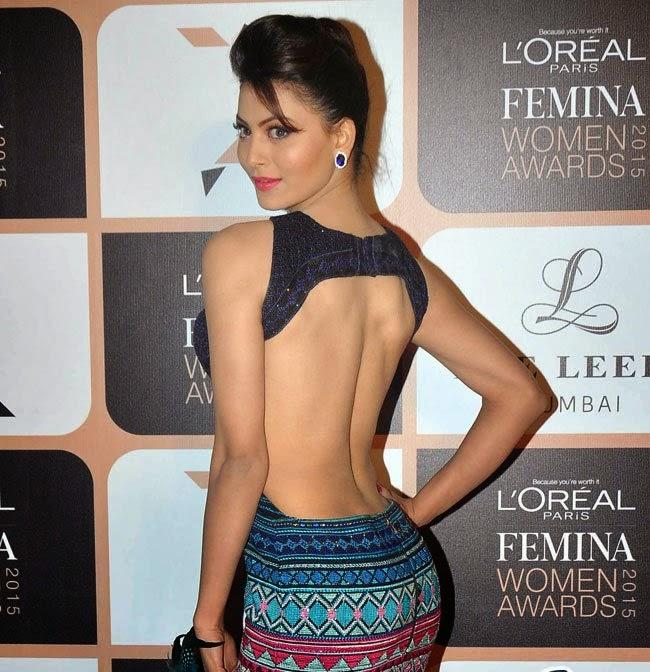 Urvashi Rautela latest hot photos at loreal paris femina women awards 2015